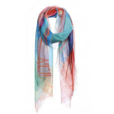**Soft Stylish Rainbow Color Scarf