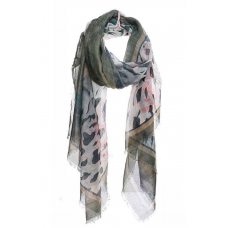 **Stylish Multi Color and Pattern Print Scarf