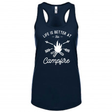 LIFE IS BETTER AT THE CAMPFIRE TANK TOP