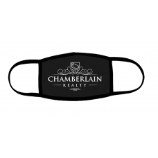 Chamberlin Realty Large Logo Face Mask