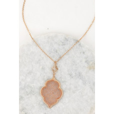 ~ Rose Gold Antique Necklace and Earrings