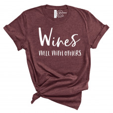 Wines Well With Others T-Shirts