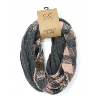 C.C Buffalo Check Print Scarf (MULTIPLE COLORS)