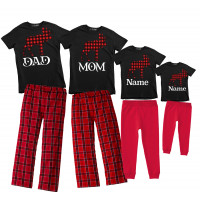 Moose Mom Christmas Pajama Set