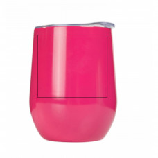12oz Pink Stemless Wine Tumbler BYOT