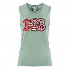 143 I Love You Festival Muscle Tank