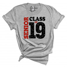 2019 Senior Red T-Shirt