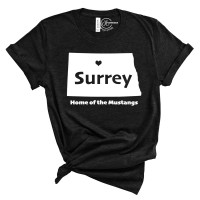 Surrey Home of the Mustangs T-Shirt