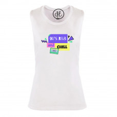 90's R&B & Chill Festival Muscle Tank