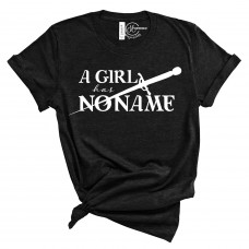 A Girl Has No Name Crew Neck T-Shirt