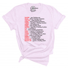 A Grammar Lesson Crew Neck T-Shirt