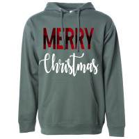 Merry Christmas Fleece Hoodie