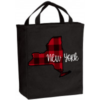 Plaid States of America Tote (ALL STATES!)