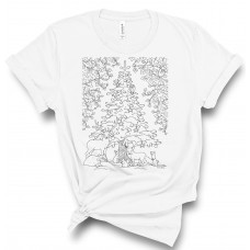 Winter Woodland Color Your SOUL! T-Shirt
