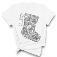 Christmas Stocking Color Your SOUL! T-Shirt
