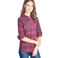 SALE - Plaid Red Flannel