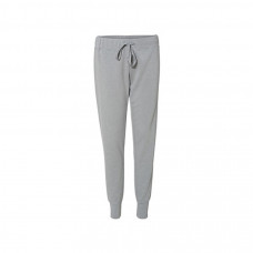 Ladies Omega Stretch Pant - Silver Grey Triblend