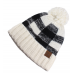 C.C. Buffalo Plaid Beanie (Multiple Colors)