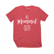 All Mommed Out V-Neck