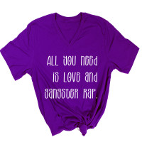 All You Need Is Love and Gangster Rap V-Neck