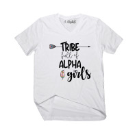 Alpha Girl Tribe V-Neck