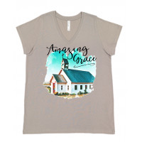 Amazing Grace Curvy Collection V-Neck