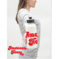 American Honey Water Bottle