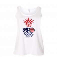 American Pineapple Curvy Collection Tank
