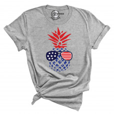 American Pineapple Crew Neck T-Shirt