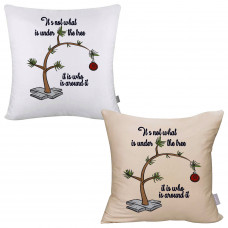 Around the Tree Pillow Cover