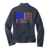Arrow Flag Jean Jacket