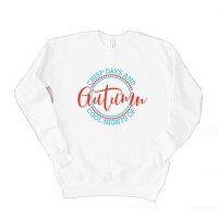 Autumn Days & Nights Unisex Drop Sleeve Sweatshirt