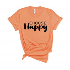 Choose Happy Crew T-shirt