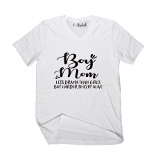 Boy Mom Less Drama V-Neck