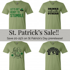 *St Patrick's Day Release SALE! BYOT