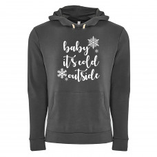 Baby It's Cold Outside Fleece Hoodie