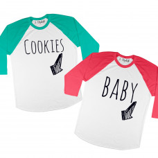 Cookies Raglan - Parental Hope