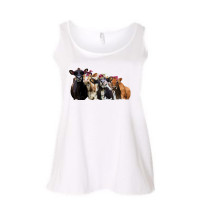 Bad Heifers  Curvy Collection Tank