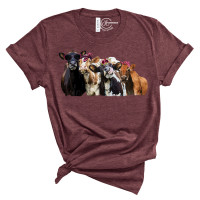 Bad Heifers Crew Neck T-Shirt