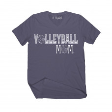 Volleyball Mom V-Neck