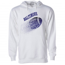 ~SALE~Baltimore Football Fleece Hoodie- Mint/S