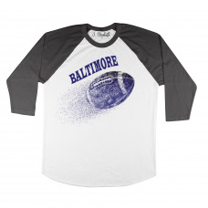 Baltimore Football Raglan