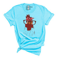 Bandana Chicken Crew Neck T-Shirt