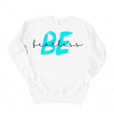 Be Fearless Unisex Drop Sleeve Sweatshirt