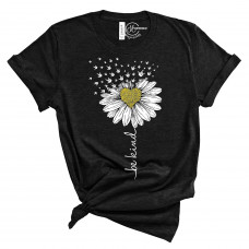 Be Kind Daisy Crew Neck T-Shirt