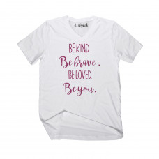Be Kind Be Brave V-Neck