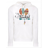 Be Thankful Fleece Hoodie
