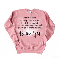 Be The Light Unisex Drop Sleeve Sweatshirt