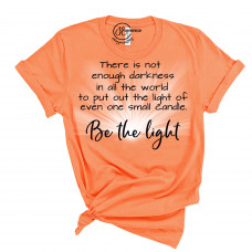 Be The Light Crew Neck T-Shirt