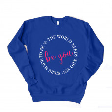 Be You Drop Sleeve Sweatshirt - Parental Hope